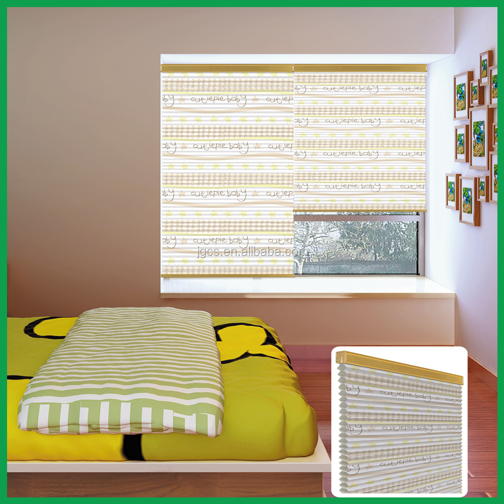 manual cellular shade,window blinds for child room day night paper for roller blinds