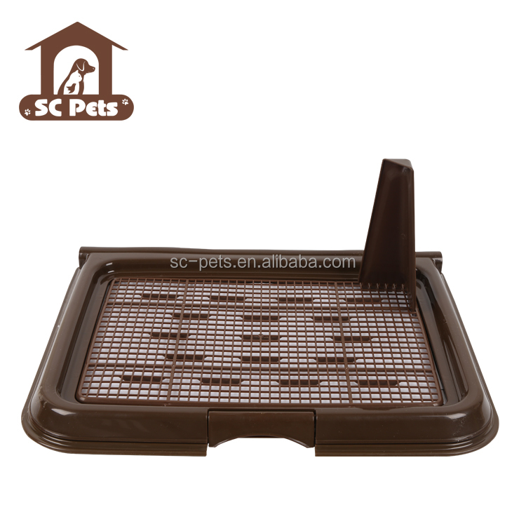 Easy to clean dog pet toilet tray for indoor using