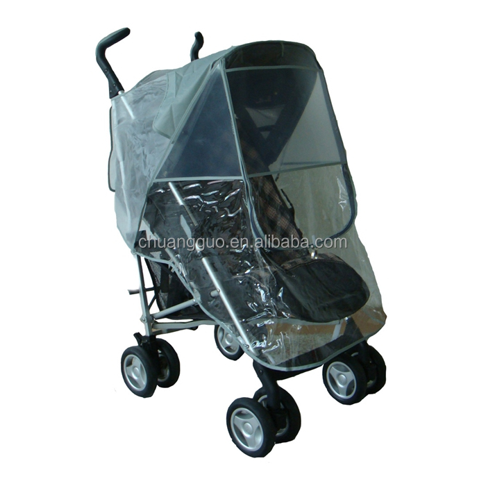 Child Tricycle Universal Double Baby Stroller Pram Rain Cover