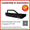 NSSC brand front bumper for jeep wrangler 87-95 4x4 accessories front bumper