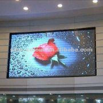 High definition smd p7.62 small led screen display indoor