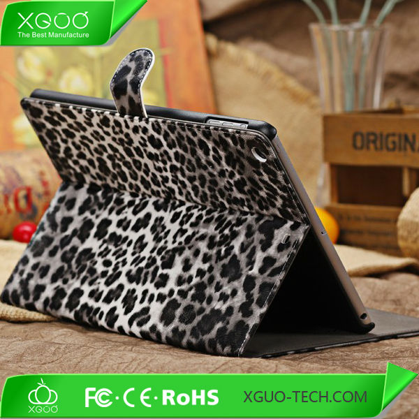 luxury leather case for ipad air, for ipad air leather case luxury