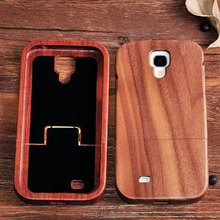 China suppliers OEM genuine nature wood phone Case cover for Samsung s4 wood case