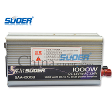 Suoer 120v-240v 1000w power inverter dc 24v to ac 220v power inverter with CE ROHS certified