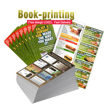 cheap printing brochure a4a5/a6 flyer magazine catalogue of factory supplier