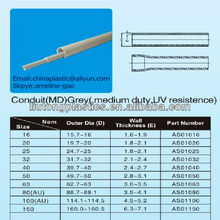 Conduit Grey colour PVC pipe