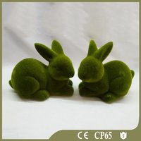 Top Sale Rattan Easter Rabbit For Decoration