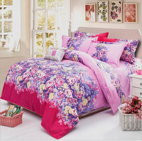 New autumn and winter bedding super soft cashmere thickened active sanding denim plant