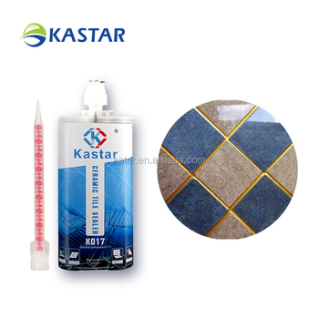 Water-resistance epoxy glue for granite