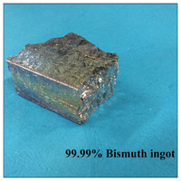 Bi Research Chemical Lab Reagent Solders Alloy Solder Special Brick Lump 99.99% Bismuth Metal Ingots
