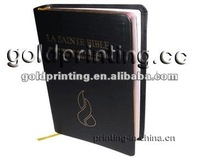 Customized Bible printing with gold stamping