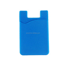 Promotional Gift Smart 3M Sticky Silicone Card Holder Pouch