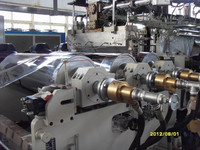 NY06330 small production at home PP PE HIPS PET EVA EVAOH Sheet Extrusion Line Doors and windows machine