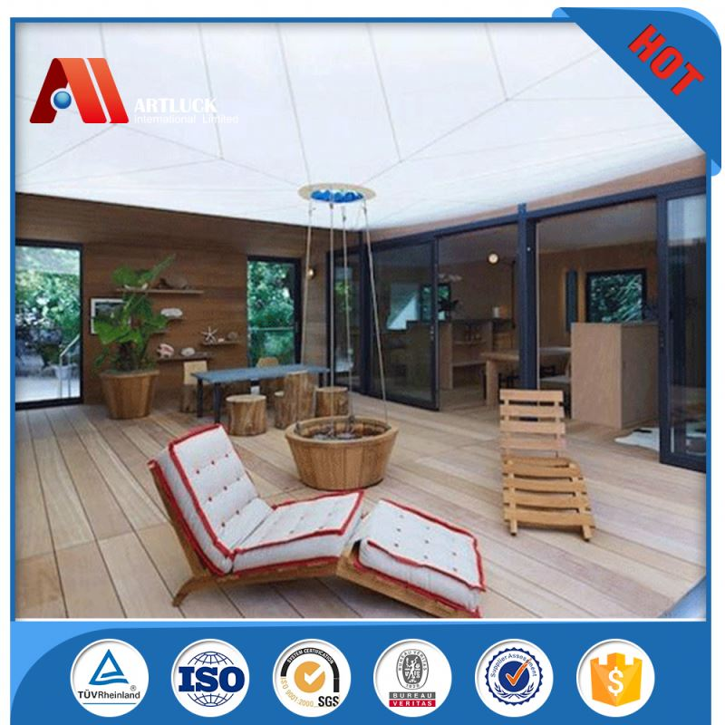 ready made portable small light steel structure prefabricated house