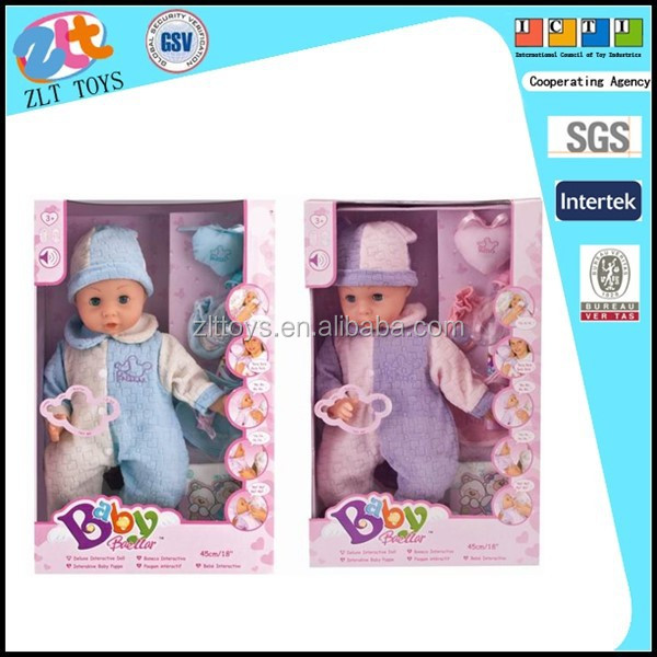 Pee baby dolls lovely growing doll boy and girl mixed