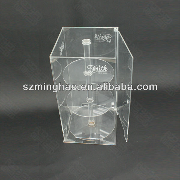 Acrylic Multi-functional Showcase/acrylic jewellery display shelf