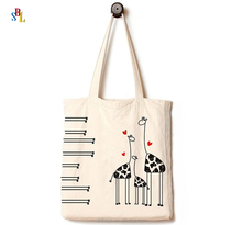 Cute Canvas Tote Bag Perfect for Shopping, Laptop, School Books Everything