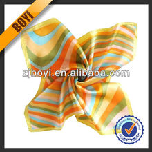 100% Silk Handmade Colorful Scarf For Ladies