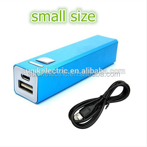 Fashion power bank 2600 mah mini lipstick powerbank metal usb power supply best portable phone charger digital products