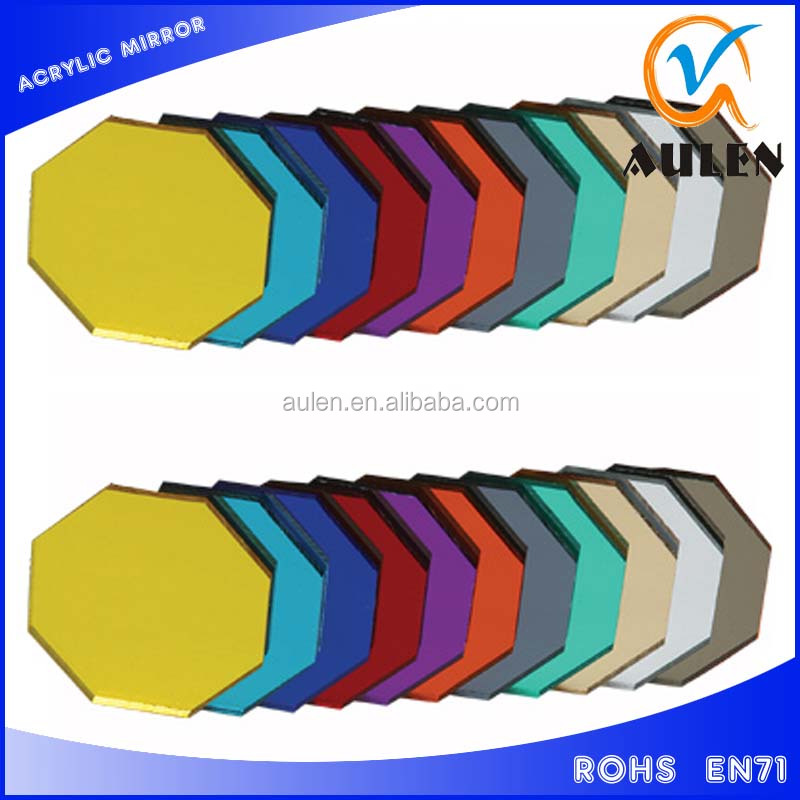 1.2 g/cm3 optical Acrylic Plastic Mirror Sheet