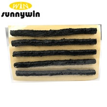 Sunnywin 6*100 Tubeless Seal Strip Plug Tire Puncture Repair Recovery Kit