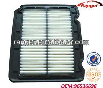 96536696 good quality cheap price DAEWOO/Chevrolet air filter