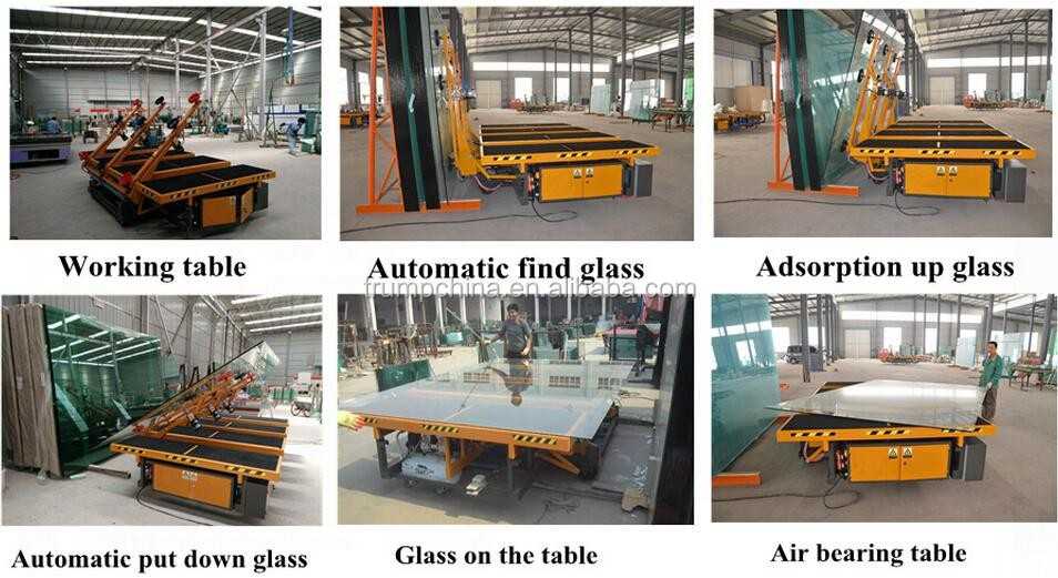 glass cutting machine automatic loading for double glass processing