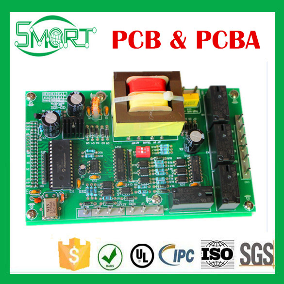 Smart Bes Green Solder Mask Controller Board, PCBA Leading PCB PCBA Producer PCBA Electronics Components PCB Assembly