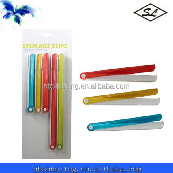 plastic colostomy bag clip for sealing any food bags