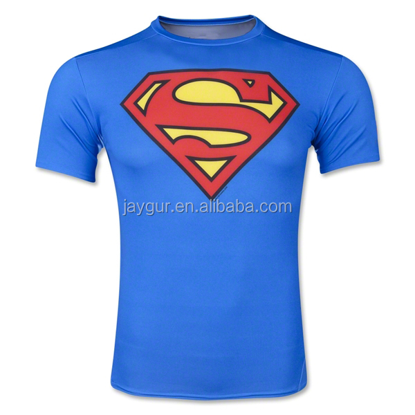 Custom dry fit compression gym t shirts moisture wicking for Custom dry fit shirts