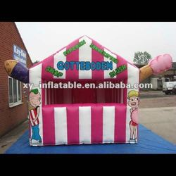 2014 Hot Design Inflatable Candy Floss Advertising Tent