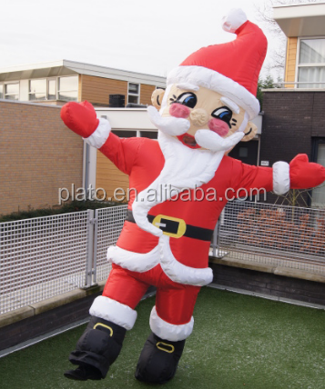 Commercial Lowes Inflatable Christmas Santa Claus,Giant Inflatable Father Christmas