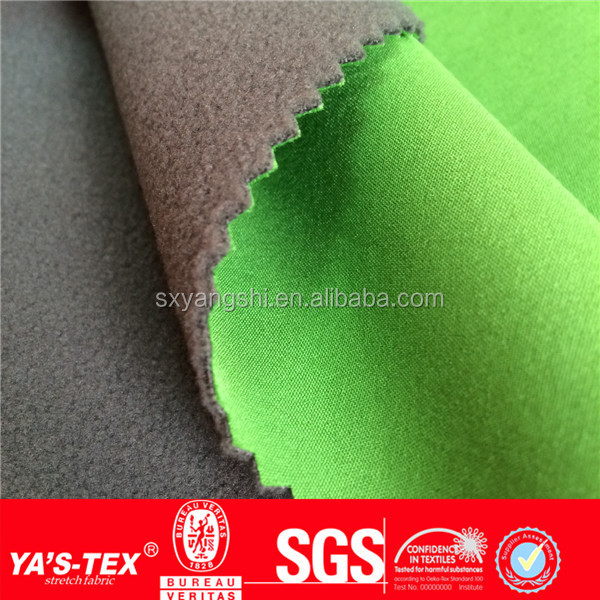 New Product Waterproof dye polar fleece fabric for Outdoor Wear