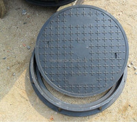 Round FRP manhole cover for Drain & FRP Cable protection mahole & FRP Rain manhole