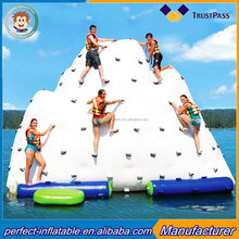 inflatable iceberg inflatable rock climbing mountain inflatable water park games for adult climbing wall
