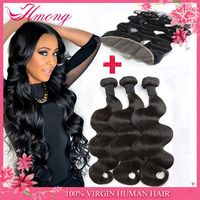 Grade 7a virgin brazilian hair lace front wig brazilian human hair bleaced knots lace frontacl closure with baby hair