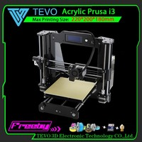 2016 Upgraded Full Acrylic Quality High Precision Reprap Prusa i3 DIY 3d Printer Kit/ Cheapest Printer Made in China!