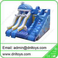 Children Inflatable slide combo bouncy castle