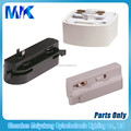 wholesale high quality 2 wire connetors 2 wire adaptors, led track rail conector, led lighting connector