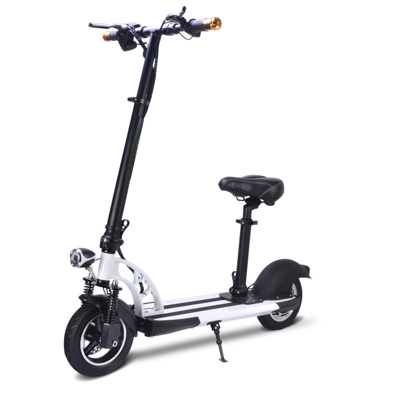 2018 8 inch Cheap Foldable <strong>Electric</strong> Scooter with seat Price China