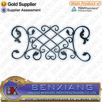 High Quality Decorative Cast Iron Fittings Art Iron Rosettes Design
