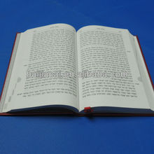 Custom hardcover book printing service in China