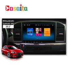 Dasaita Android 6.0 Octa Core Car GPS for Mitsubishi Lancer EX 10 NO DVD player Stereo Auto Radio