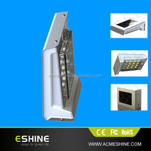 2nd Generation with waterproof and heatproof E-shine ELS-11P IP 65 Solar Lights for Cabins/ garden,solar sensor motion led light