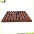 Bathroom floor tiles anti water teak wood shower mat from goodlife houseware