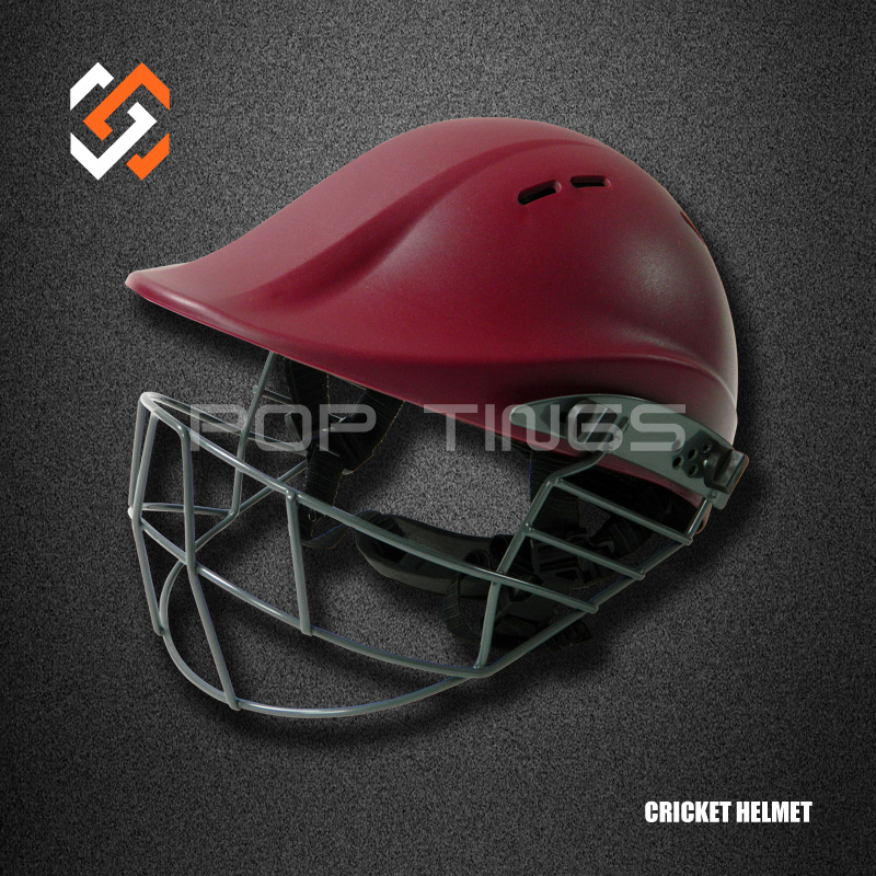 ABS Cricket Helmet with Titanium Face Mask, American Football Helmets