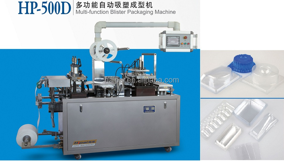 sales Automatic thermoforming blister packing Machine for stationery, card and so on from Wenzhou Haipai Company