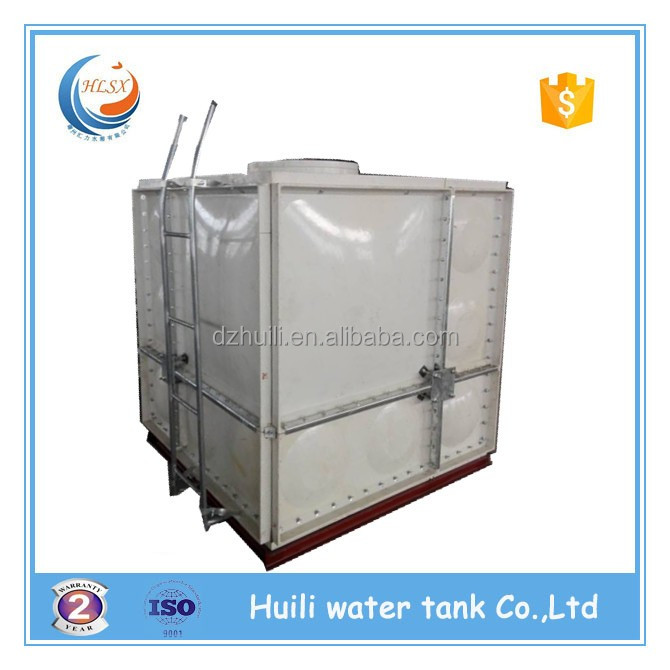 Roof tank fiberglass reinforced frp/grp/smc rainwater collection tank