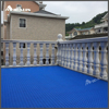 Commercial Square Rubber Anti Slip Veranda