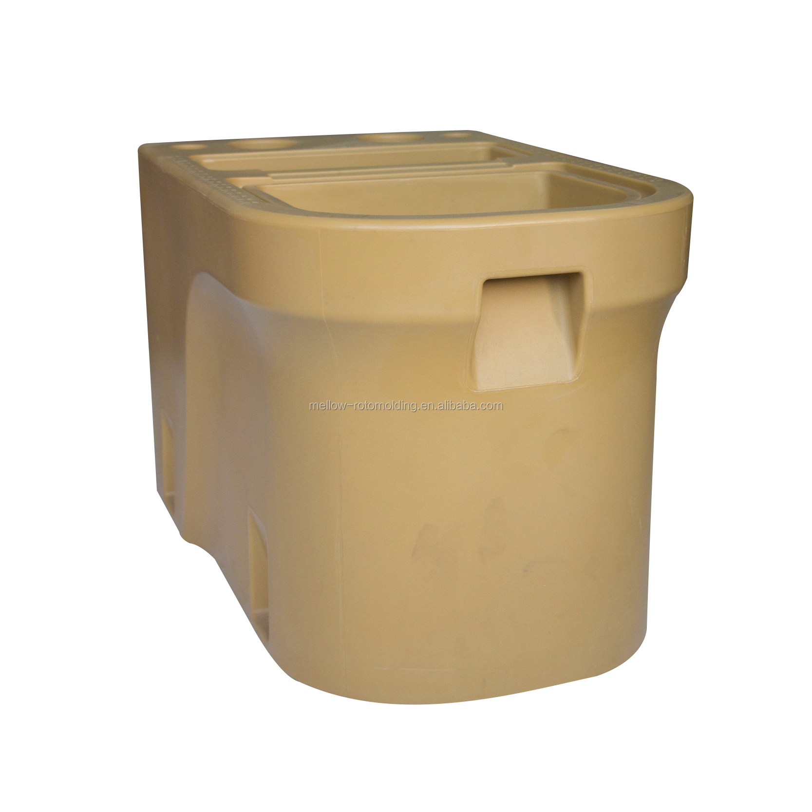 mellow customized fishing food storage bin for boat